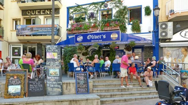 British pub in Benidorm