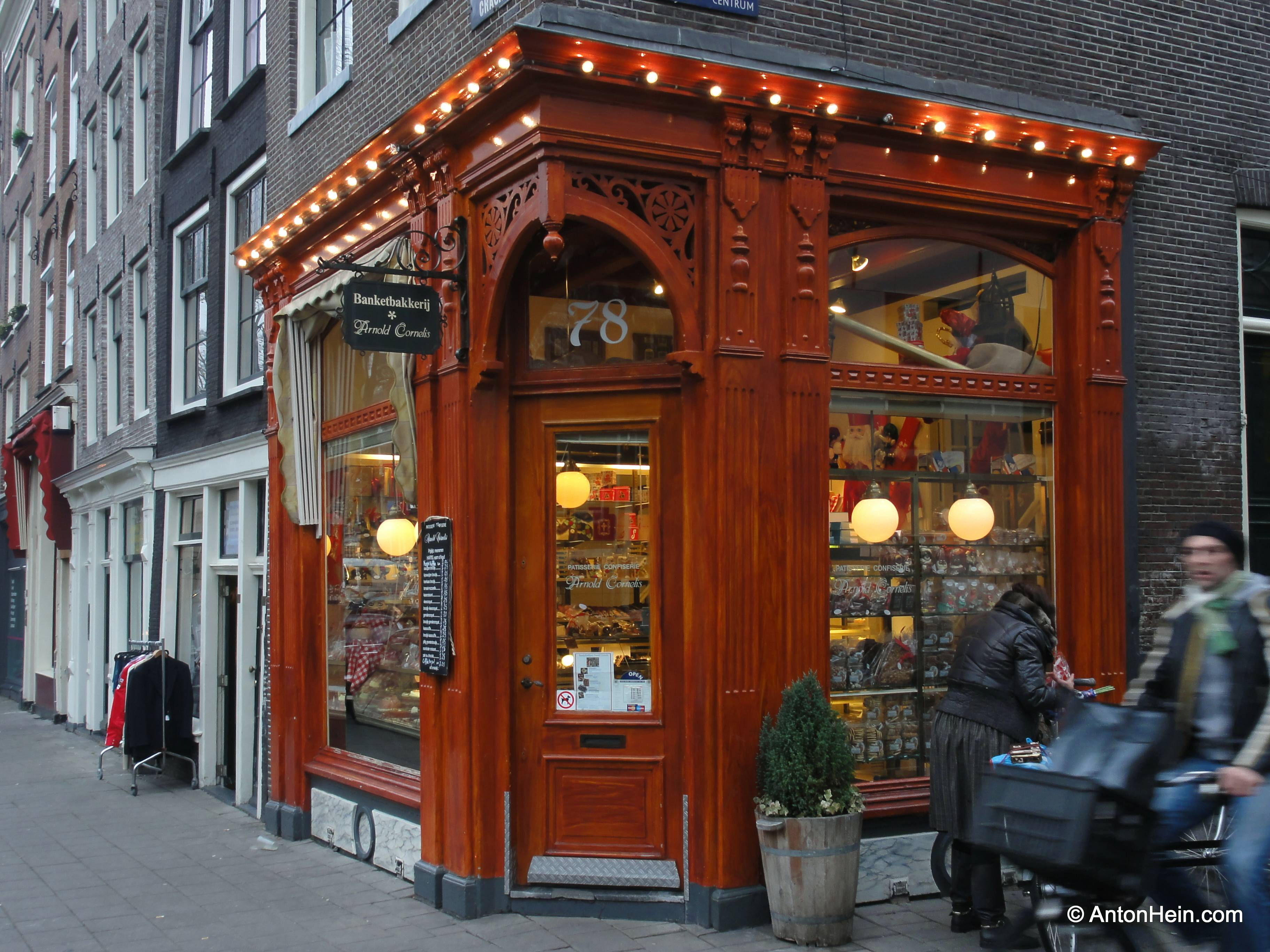 A pastry shop in Amsterdam's Jordaan district