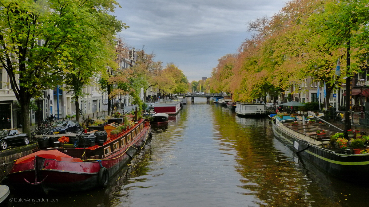 Amsterdam: Prinsengracht in the fall