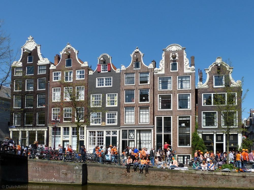 Monuments along Brouwersgracht, Amsterdam