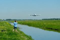 The Polderbaan at Schiphol Airport