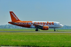 Easyjet at Amsterdam Airport Schiphol